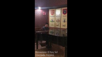 Solo Piano and Sax 1