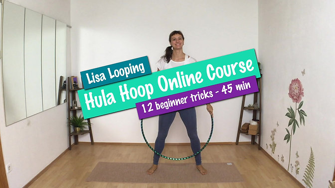 Hula Hoop Online Basics Course Preview - 12 lessons