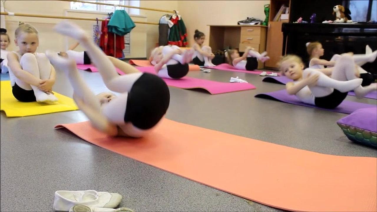 4-5лет хореография