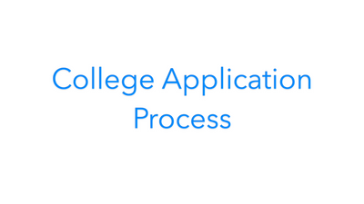 College Application Process Product Video Normal
