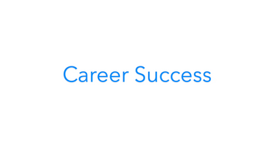 Career Success Product Video