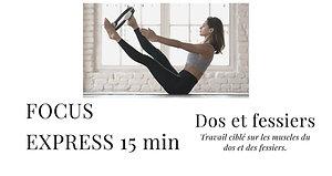 FOCUS EXPRESS DOS ET FESSIERS