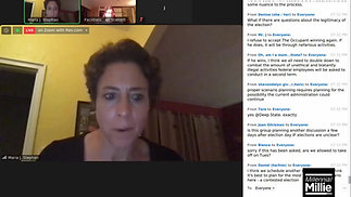 Extended Feds For Democracy Coup Zoom Chat