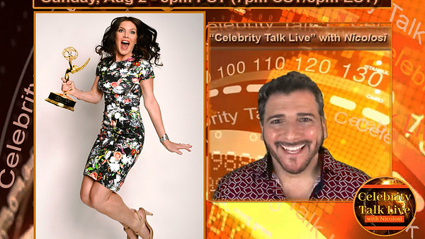 -------- Celebrity Talk LIVE --------  with Nicolosi