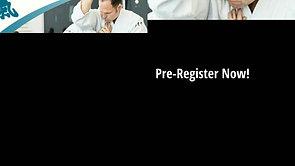 20% Off When You Pre-Register!