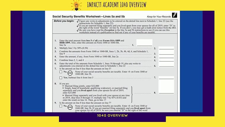 IMPACTT Academy Tax Course