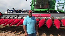 18 Row MAYA Corn Head Customer Testimonial