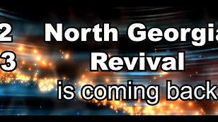 North Georgia Revival Sign