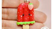 Kawaii Strawberry Popsicle
