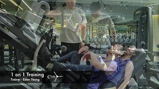 1 on 1 training - Edan 3