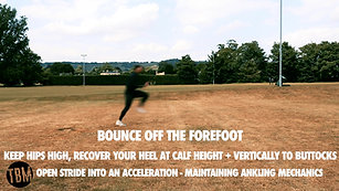 ANKLING BLEND TO ACCELERATION