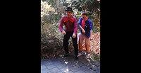 Tanztrailer mit Charlotta und Bobo, pink panther