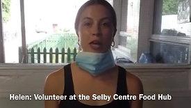 Helen, Selby Food Hub Volunteer
