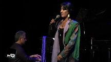 Leslie singing blues in Del Ray Beach