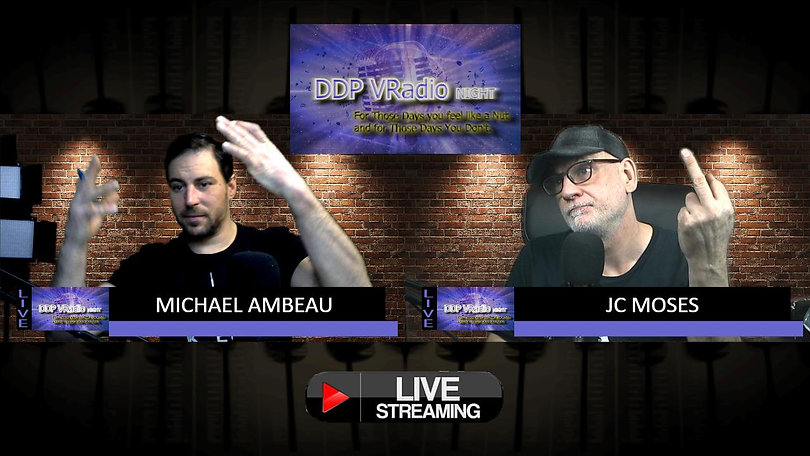 DDP Vradio Night - Jan 14 2021 - Michael Amber & JC Moses - Addiction
