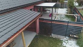 Construction d'un couvert à Dorénaz : Chantier terminé (3/3)