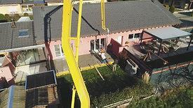 Construction d'un couvert à Dorénaz : Début du Chantier (1/3)