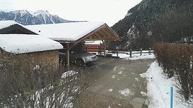 Construction d'un couvert à voitures à Dugny : Fin du Chantier (2/2)