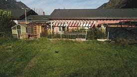 Construction d'un couvert à Dorénaz : Milieu du Chantier (2/3)