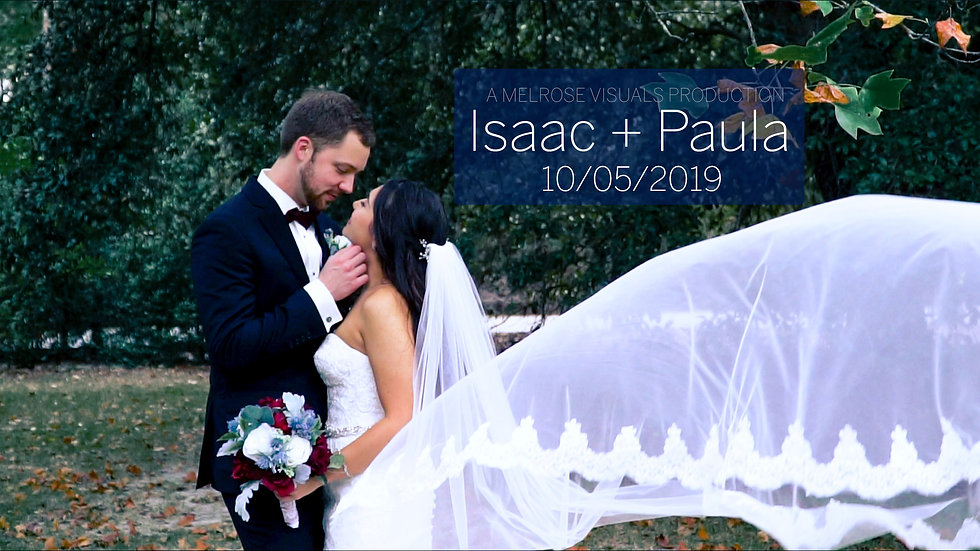 Isaac & Paula's Wedding Day Film