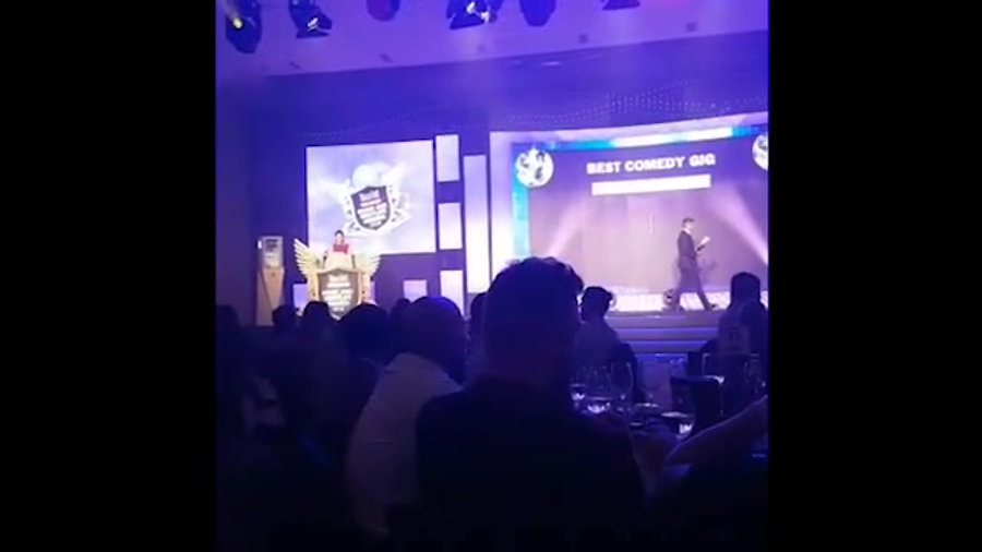 Mandy Knight - Time Out Awards, Abu Dhabi - Highly Commended Award in the category of Best Comedy Gig - 2018