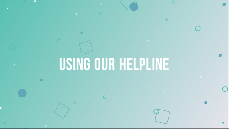 using-our-helpline