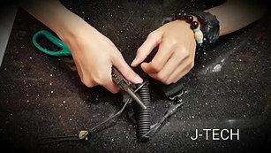 J-TECH M-4 II戰術手槍繩-3.5mm鋼絲蕊
