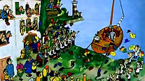Приключения капитана Врунгеля. Серия 1 - советские мультфильмы