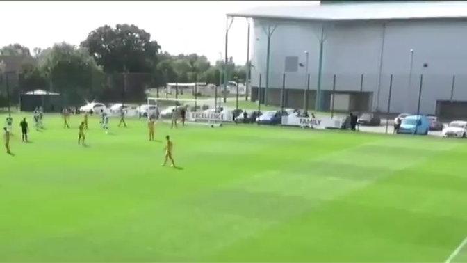 Preimier League Cup: Tai Fleming vs Newport County U23