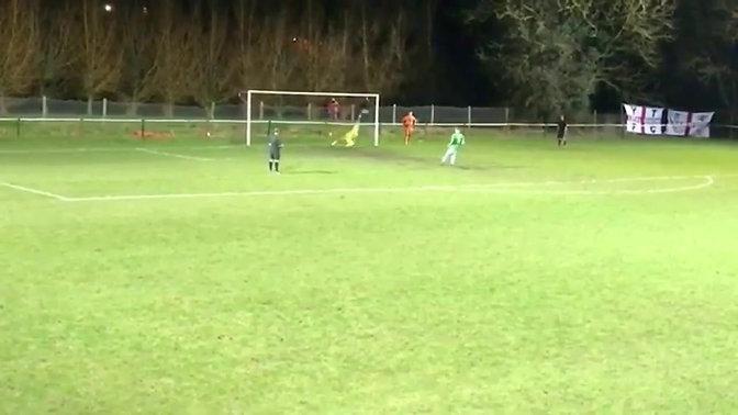 Tai Fleming Vs Radstock Penalty - First Team