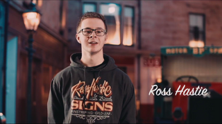 A Minute With...Traditional Signwriter Ross