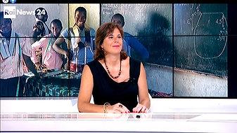 RAI NEWS 24 - Intervista durante Fund Raising 2017 per Istituto Lumetti VTC