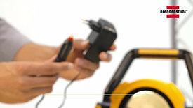 brennenstuhl® mobiler Akku LED Strahler IP54 20W-30W