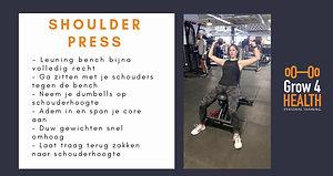 Shoulder press DB