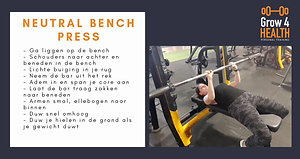 Neutral bench press