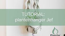 Tutorial plantenhanger Jef