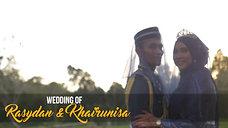 Majlis Pernikahan & Perkahwinan Rasydan & Khairunnisa by FES Studio