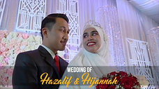 Teaser Wedding of Hazalif & Hijannah