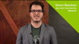 Mentorat pour entrepreneurs - Témoignage de Simon Beaubien, mentoré