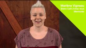 Mentorat pour entrepreneurs - Témoignage de Marlène Vigneau, mentorée