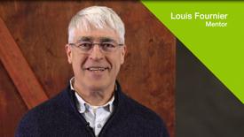 Mentorat pour entrepreneurs - Témoignage de Louis Fournier, mentor