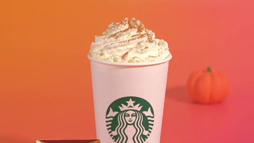 Starbucks PSL 1