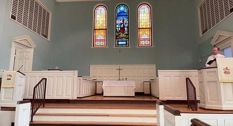 August 1st Worship Service