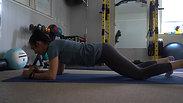 Running Man Planks