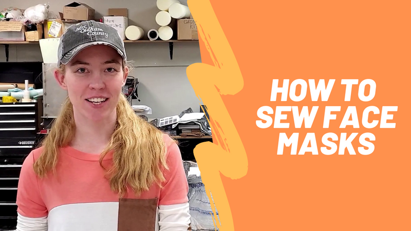 How to Sew Face Masks