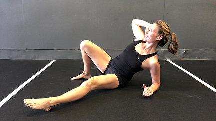 Single Arm Floor Row
