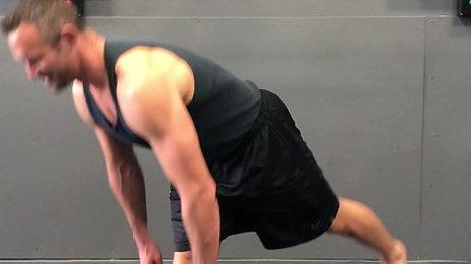 Single Leg Floor Touches
