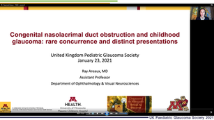 29 - Raymond G Areaux Jr. - Congenital nasolacrimal duct obstruction and childhood glaucoma: Rare concurrence and distinct presentations