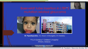 13 - Margarita Papadopoulou - Baerveldt tube insertion in LTBP2 mutation related glaucoma: A case series