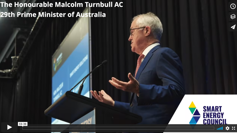 Smart Energy Conference & Exhibition 2021 - Smart Energy Solutions - Malcolm Turnbull